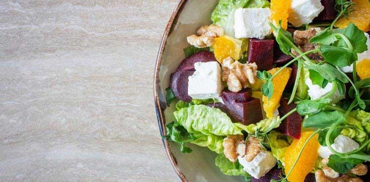Sin dietas con ensalada