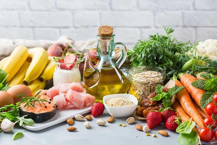 alimentos con bajo índice glucémico.